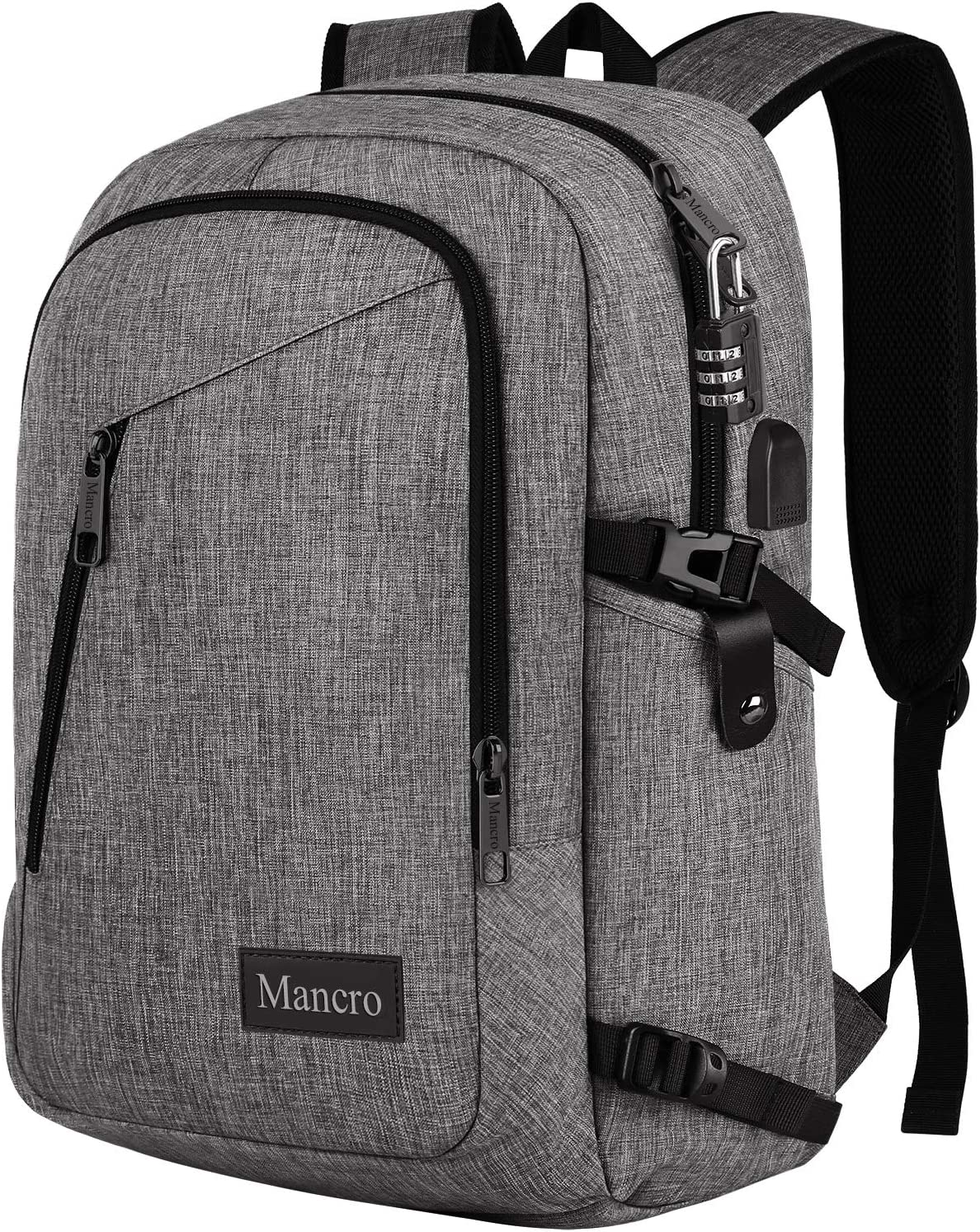 Laptop Backpack, Travel Computer Bag for Women & Men,