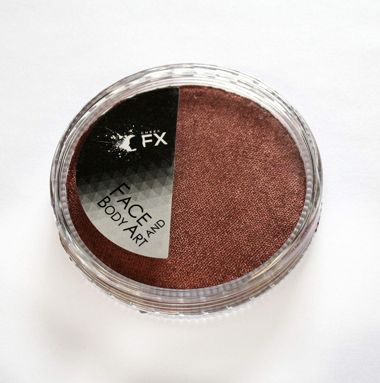 Metalic Copper Body Painting Cake 30 Grams Cheek FX
