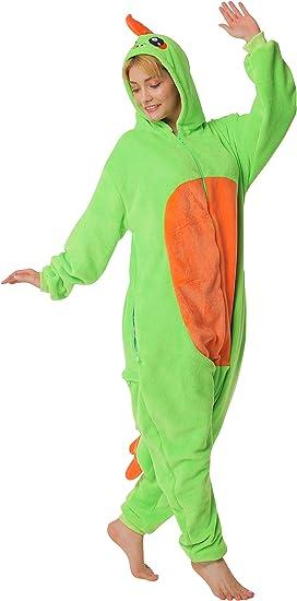 6+ designs corimori 1852 Byte il Dinosauro Costume Uomo Donna