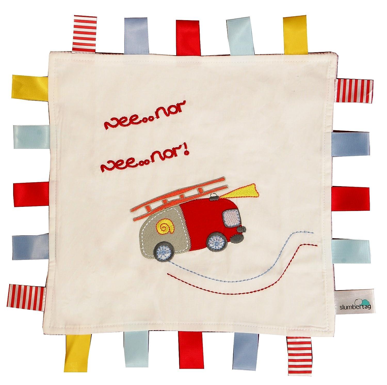 Slumbersac SlumberTag Baby Comforter Blanket (30 x 30 cm, Pink Hedgehog) TAG410