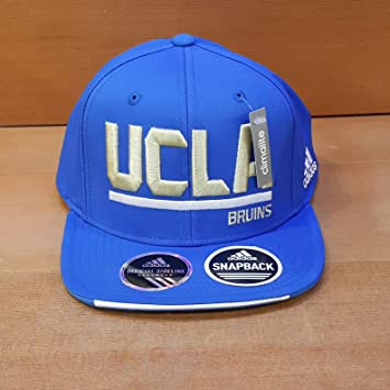 677e4023 Amazon.com : ADIDAS SLD ADJUSTABLE FLAT BRIM SNAPBACK HAT BLUE WITH ...
