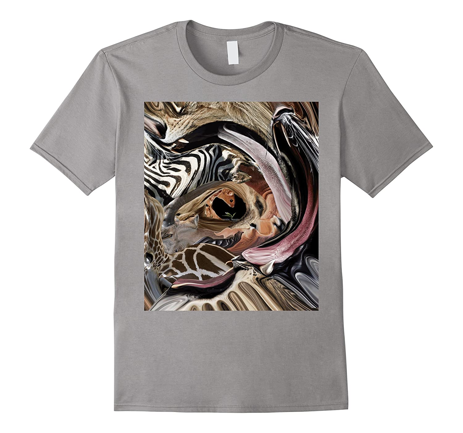Animal Tunnel Soft, Graphic Tee-FL