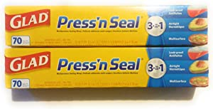 Glad Press 'n Seal Wrap (2-Pack, 70 sq. ft. each - Total 140 sq. ft.)