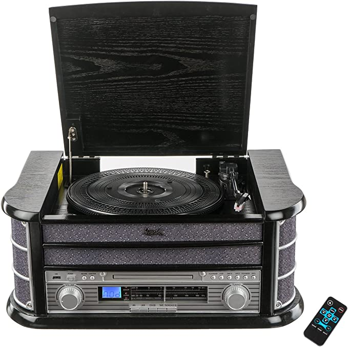 Dual 75213/NR 4/Nostalgie Minicadena Negro