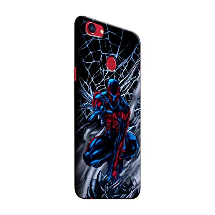 the latest 418fd 4101f Gosmartkart Oppo f7 Spider Man Printed Back Cover: Amazon.in ...