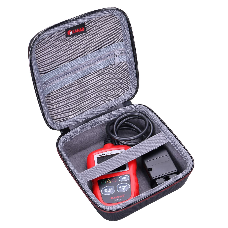 XANAD Case Compatible with Autel AutoLink AL319 OBD2 Scanner Automotive Engine Fault Code Reader CAN Scan Tool