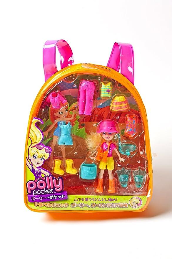 Amazon.com: Polly Pocket Polly Explorin Australia Travel Backpack: Toys & Games