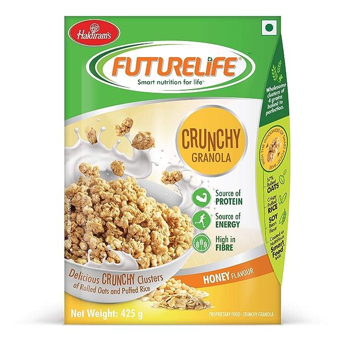 [Apply coupon] Haldiram's Futurelife Crunch Granola Honey Flavour 425g