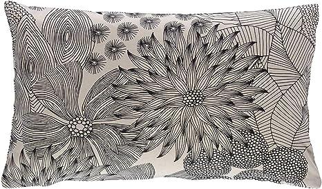 Scantex Kissenhülle Asia Kissenbezug für Dekokissen Sofakissen uni 50 x 50 cm