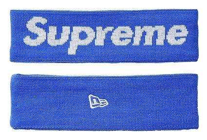 supreme headband,supreme Diadema deportiva, de Pelo Antideslizante Banda de Cabeza Atlética de Algodón