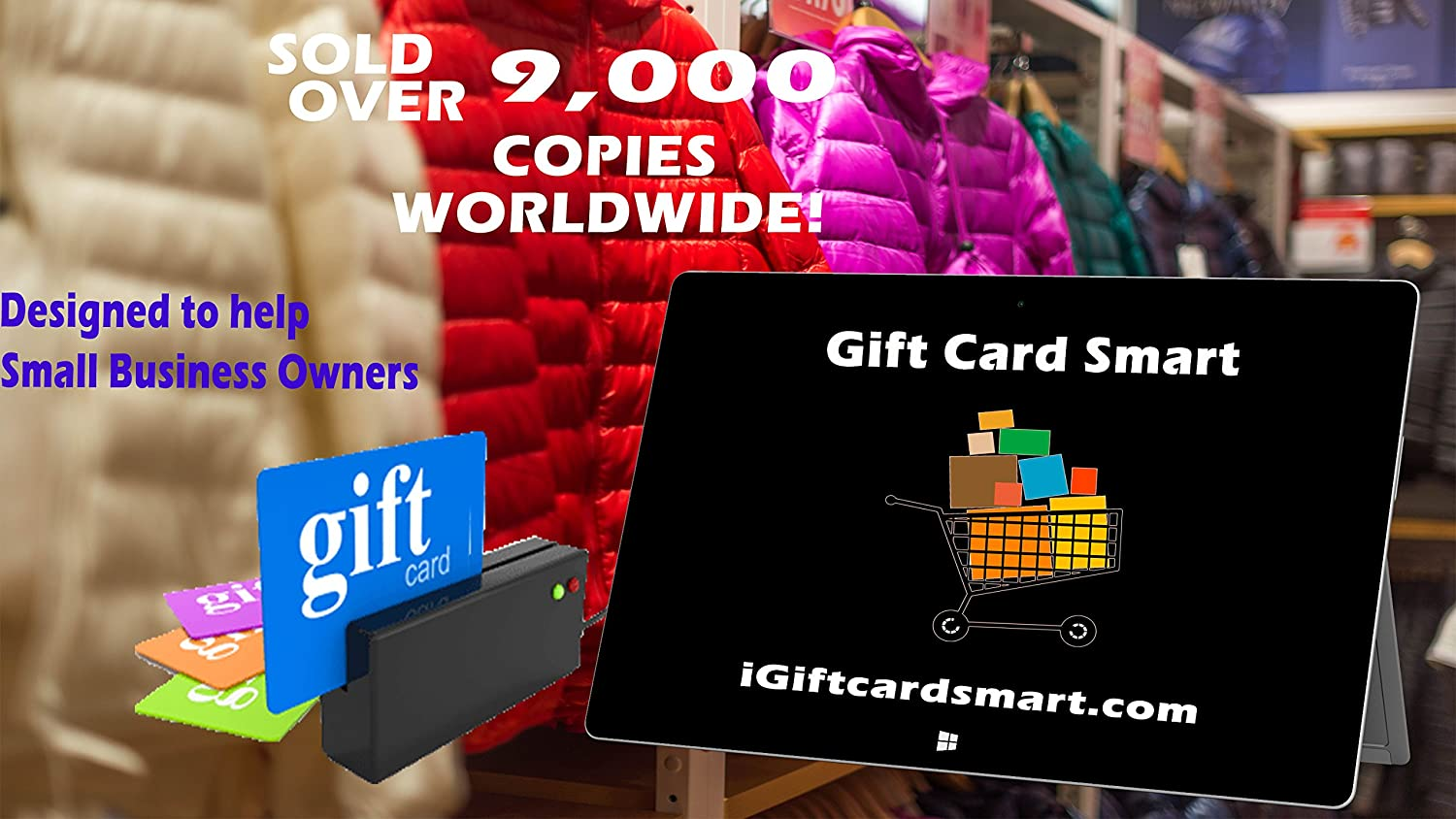 amazoncom gift card smart small to midsize business gift card software easy gift card generating software for pc - Gift Card Program For Small Business