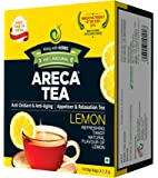 ARECA TEA Lemon Flavoured Tea Bag, 1.3g - Pack of 30