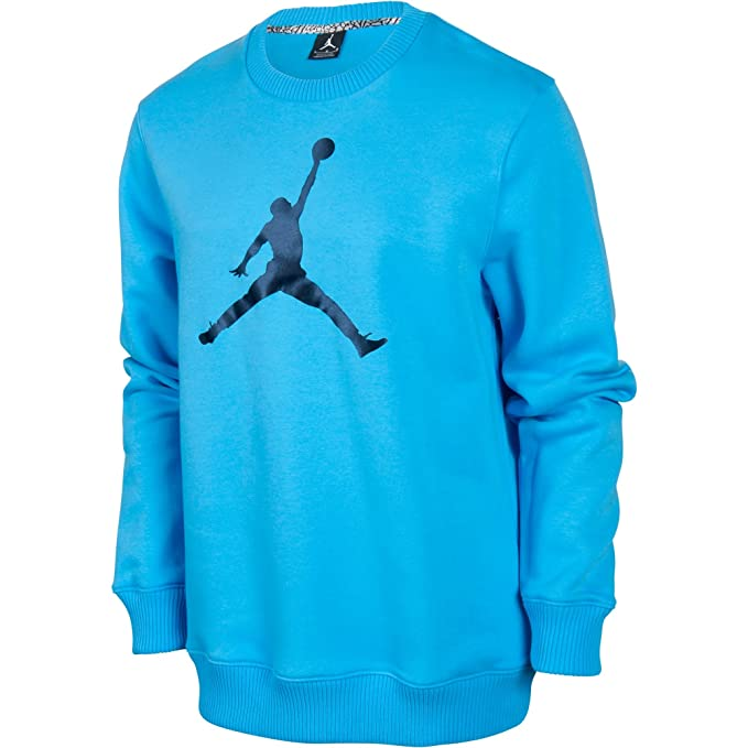 Jordan Jumpman Sudadera de Hombre de Forro Polar Camiseta Cielo Azul/Negro 574146 - 412: Amazon.es: Deportes y aire libre