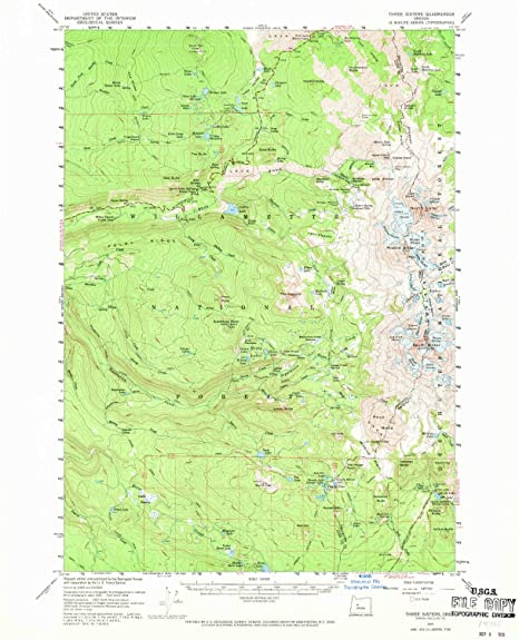 Amazon.com: YellowMaps Three Sisters OR topo map, 1:62500 ... on mt. lassen on us map, obsidian trail map, bend map, sisters mountains, three sisters map, visit orlando map, 3 sisters tx map, sisters ranger district map, bonanza ranch nevada map, sisters or, ida st stayton map,