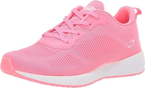 Skechers - Bobs Squad-Glow Rider - Zapatillas para mujer: Amazon.es: Zapatos y complementos
