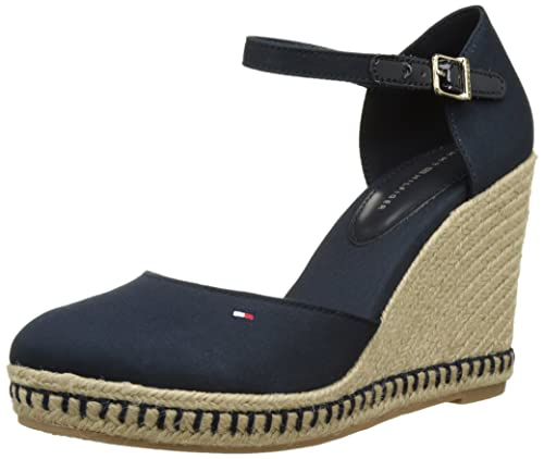 316472d0b53 Tommy Hilfiger E1285mma ,Women's Closed Toe Wedge Sandals