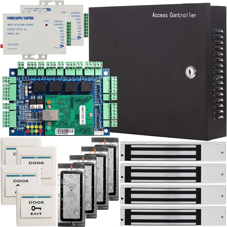 UHPPOTE UHPPOTE アクセス制御キット Wiegand B07JHGB89D 26ビットRFID IDリーダー 電磁錠 Wiegand AC110V電源ボック UL認定の電源トランス付 B07JHGB89D, BEAUTY FIRST:587dcfb1 --- loveszsator.hu