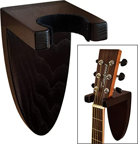Percha de madera para guitarra hecha a mano: Amazon.es ...