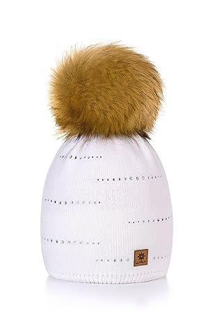 Morefaz - Gorro de lana para mujer 22323217c6ab