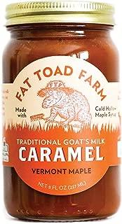 product image for Fat Toad Farm Traditional Goat's Milk Caramel Sauce, Vermont Maple, 8fl oz Jar, Cajeta, Gluten Free