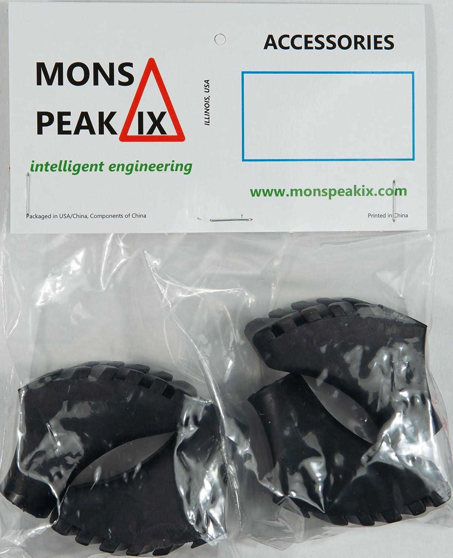 4-Pack Mons Peak IX Nordic Walking Poles Rubber Tips