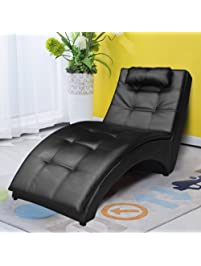 Cloud Mountain Leisure Chaise Lounge Couch Sofa Chair Living Room Furniture