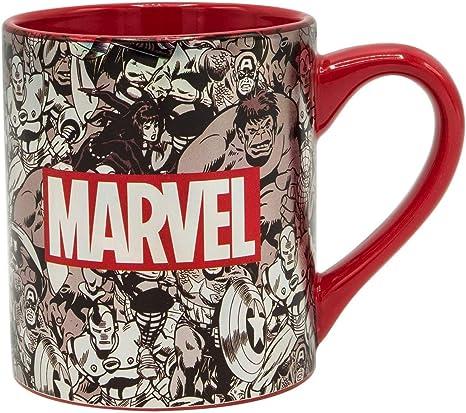 Cup Ceramic Marvel Spinner Mug 330ml Stor