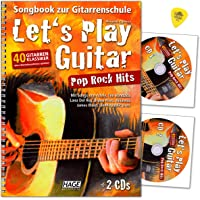 Let's Play Guitar Pop Rock Hits - Libro