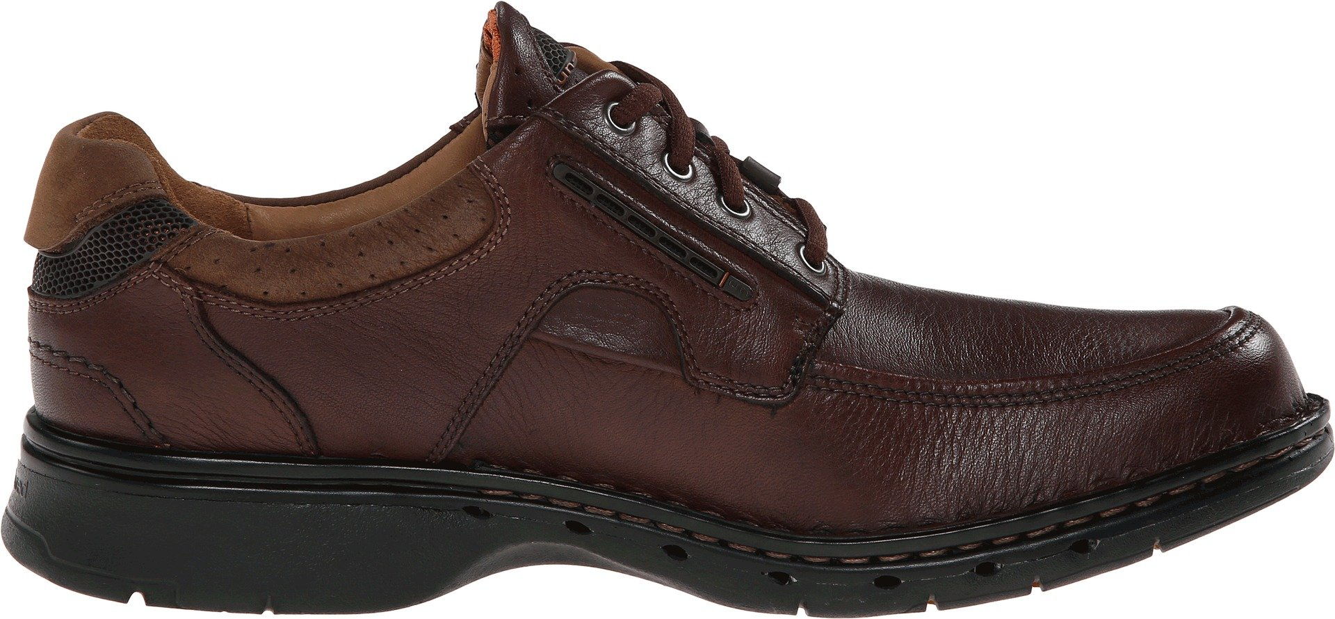 Clarks Men's Un.bend Brown Leather Oxford 11.5 B - Narrow by CLARKS (Image #3)