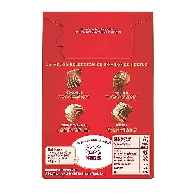 Nestlé Caja Roja - Bombones de Chocolate - 100 g: NESTLE: Amazon.es: Alimentación y bebidas