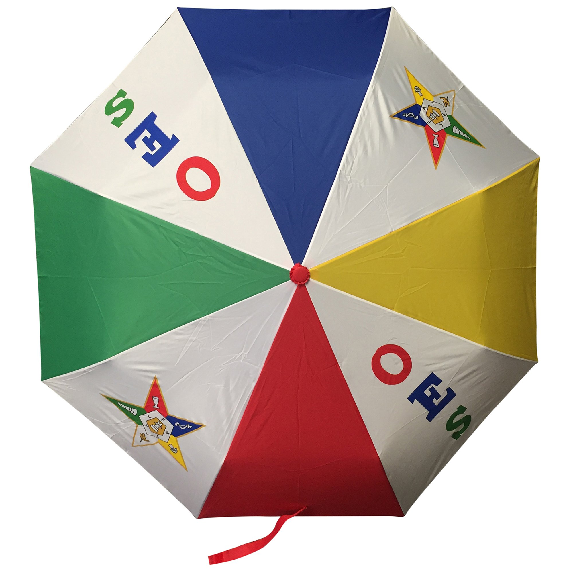F3100 Order of the Eastern Star OES Umbrella, Two Carbon Fiber Ribs