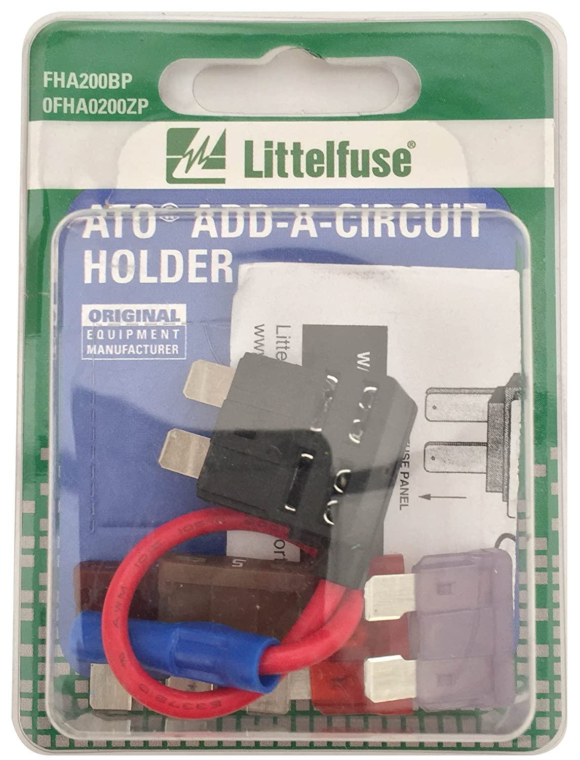 Littelfuse Fha200bp Ato Add A Circuit Kit Blade Fuses Old Fuse Box Holders