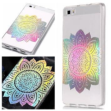 E-Mandala Funda Huawei P8 Lite 2016 2015 Glitter Brillante ...