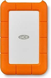 LaCie Rugged Mini USB 3.0 / USB 2.0 4TB Portable Hard Drive LAC9000633