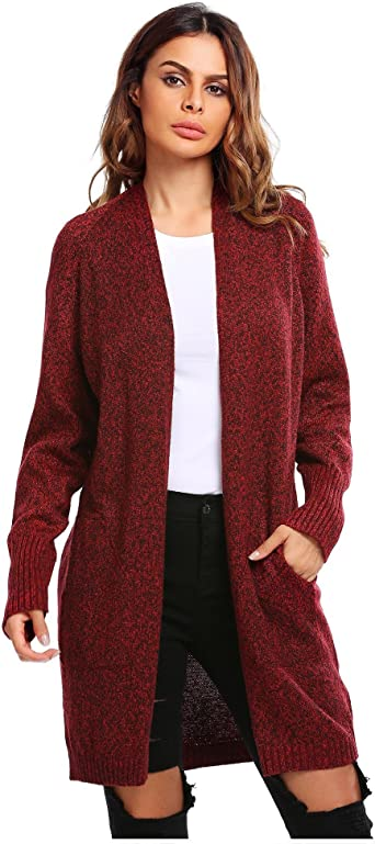 1 red 14 inch open ended zip for jackets cardigans