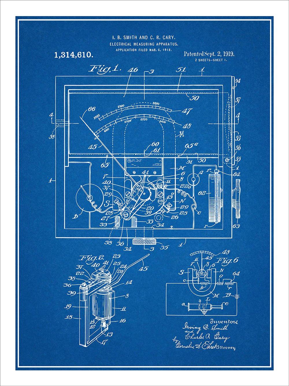 Amazon.com: 1919 Electrical Meter Galvanometer Voltmeter ... on siding blueprints, machining blueprints, design blueprints, welding fabrication blueprints, engine blueprints, water heater blueprints, plumbing blueprints, industrial blueprints, mechanical blueprints, electronic blueprints, house blueprints, countertop blueprints, manufacturing blueprints, hydraulic blueprints, engineering blueprints, home blueprints, foundation blueprints, structural blueprints, automotive blueprints, computer blueprints,