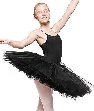 Chica Tutu clásico (Ballet Disfraz) Ballet tutú Rock 6 – Capas de ...