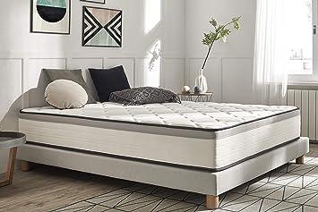 Moonia - Colchón 90 x 190 cm - Colchón Cama 90 - Colchones de Alta Durabilidad - Colchón Antiacaros - Modelo Premium Hotel Edition: Amazon.es: Hogar