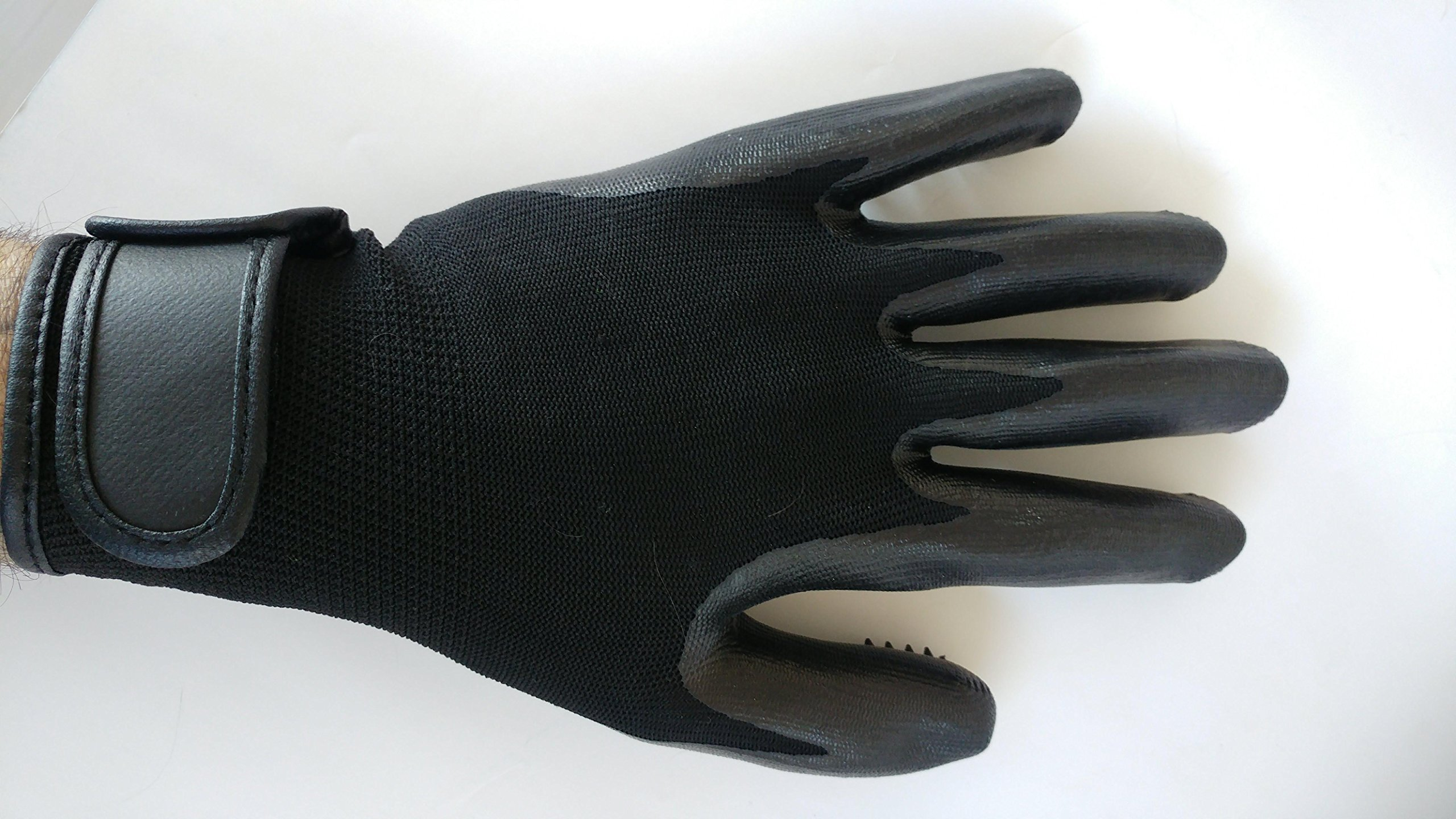 SheiPet Grooming gloves - Perfect hair remover for cat, dog, horses and any pet with long, short or curly hair - soft brush and massage glove by SheiPet (Image #4)