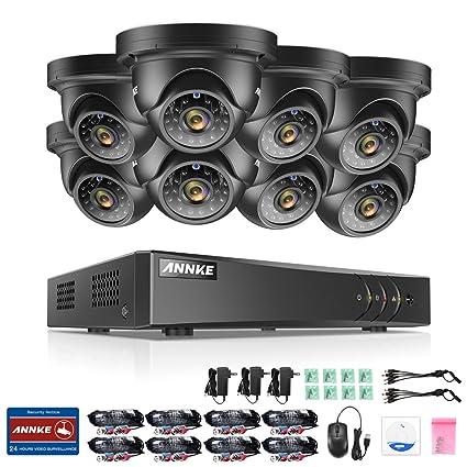 [1280*960P HD] ANNKE Kit de 8 Cámaras de Vigilancia (Onvif H