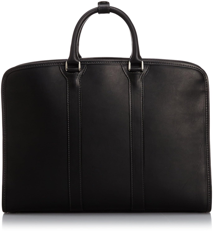 [インディード] INDEED レザービジネスバッグ革b4 ボルサ B00NEIZMLC ブラック ブラック