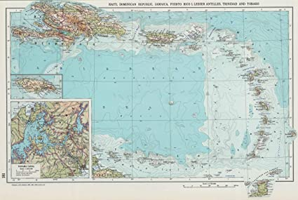 Amazon world atlas 1967 181 haiti dominican republic world atlas 1967 181 haiti dominican republic jamaica puerto rico island gumiabroncs Images