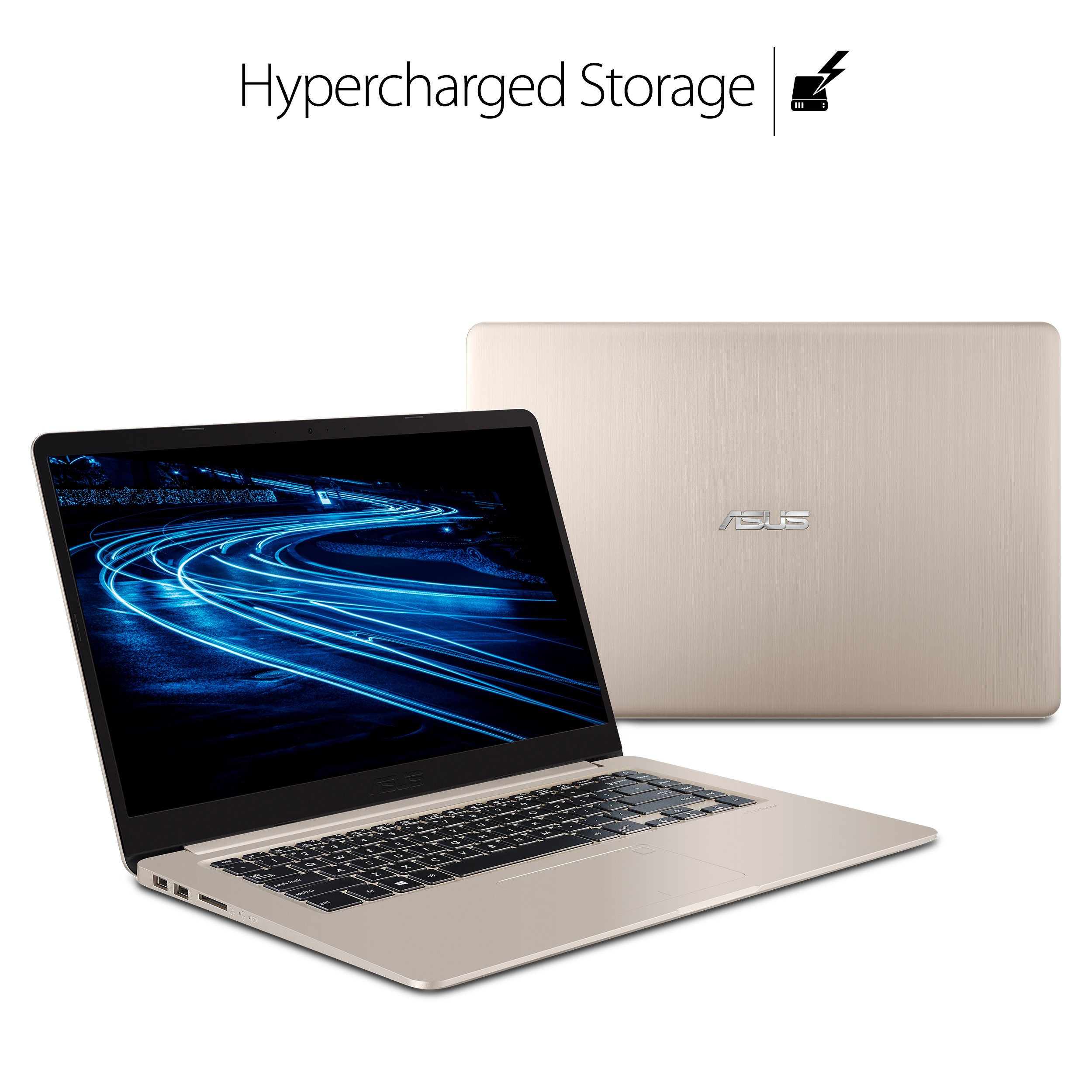 """ASUS VivoBook S Ultra Thin and Portable Laptop, Intel Core i7-8550U Processor, 8GB DDR4 RAM, 128GB SSD+1TB HDD, 15.6"""" FHD WideView Display, ASUS NanoEdge Bezel, S510UA-DS71 by ASUS (Image #5)"""