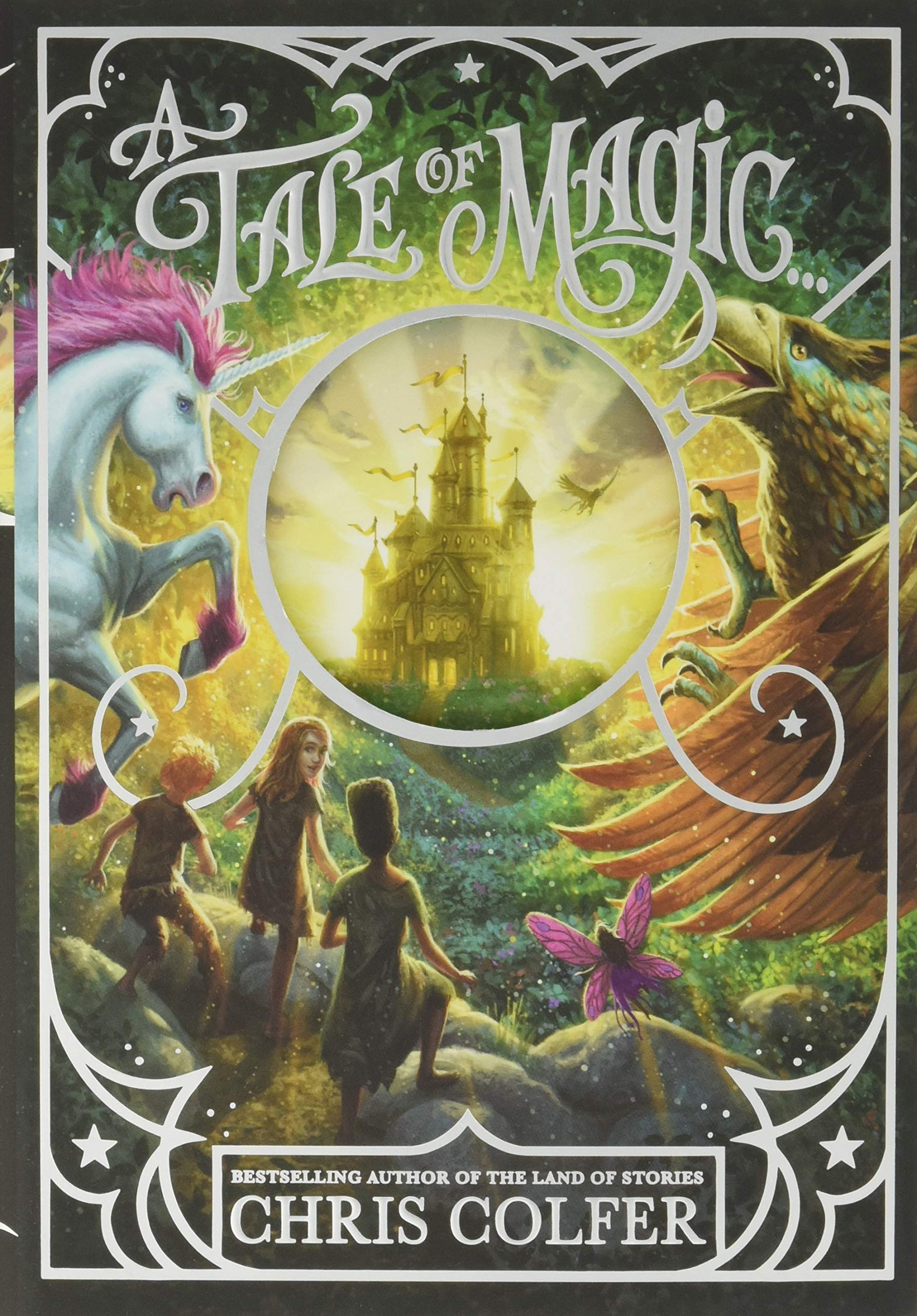 Image result for a tale of magic cover chris colfer
