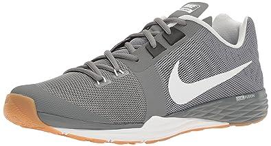 Nike Men s Train Prime Iron DF CoolGry Wht-Blk-PurePlatnum Running Shoes- ad6b78f69