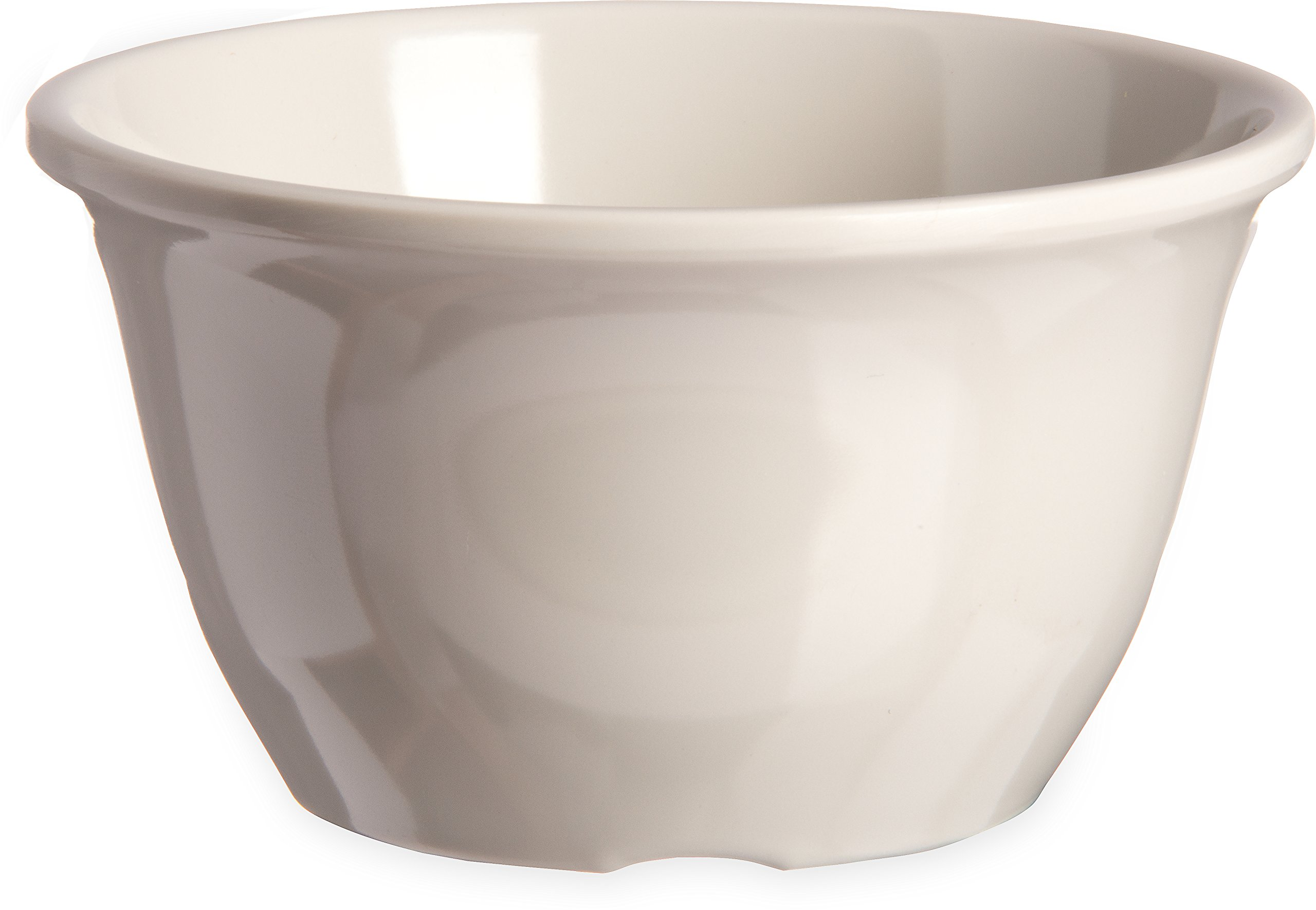Carlisle 4305042 Durus Melamine Bouillon Cup, 12 Oz., Bone (Pack of 48)