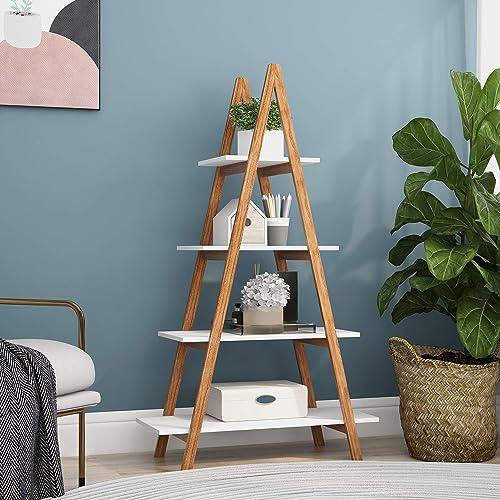 HOOSENG Ladder Shelf
