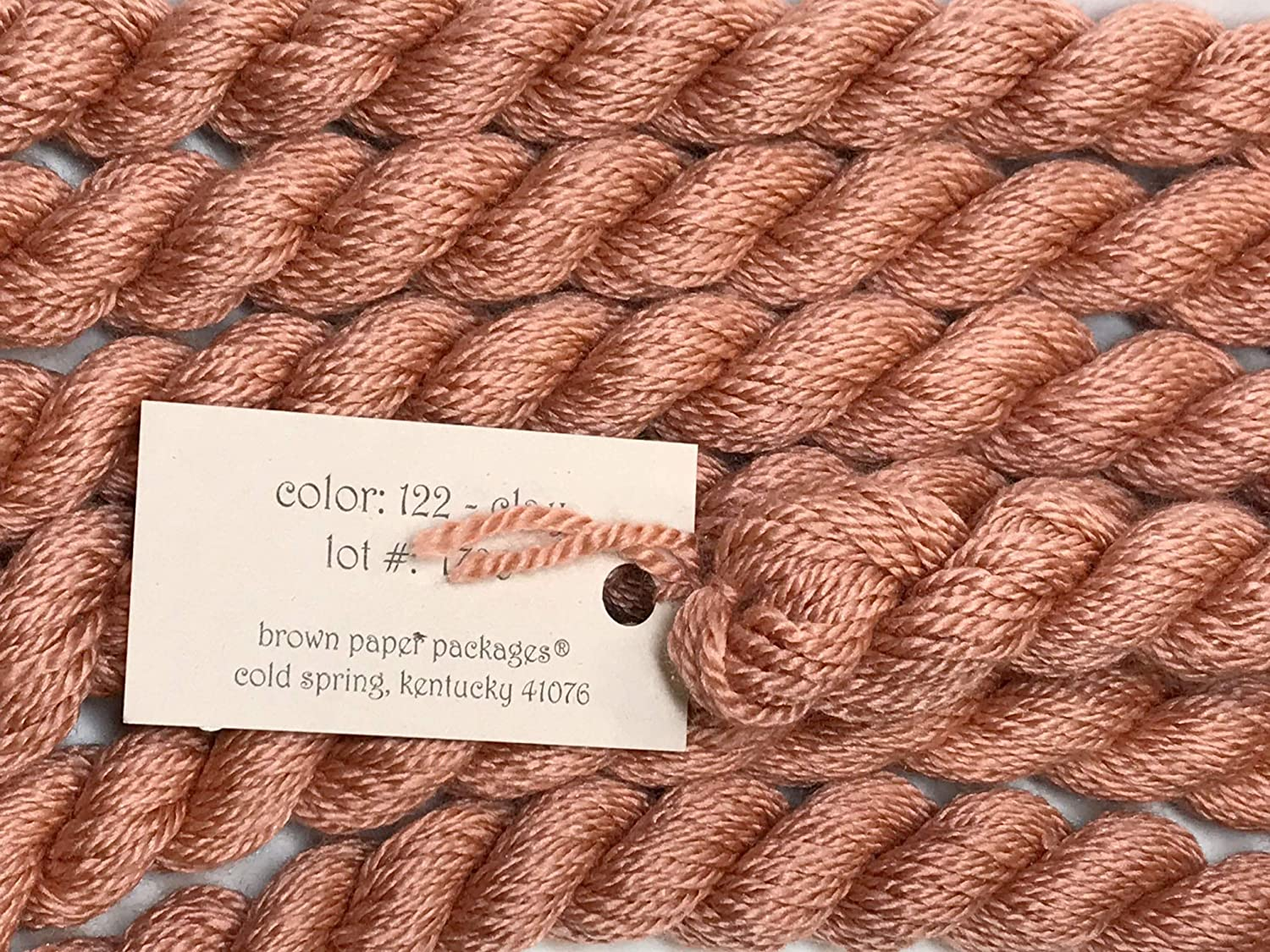 Silk /& IVORY-CLAY-122-1 SKEINS with This Listing