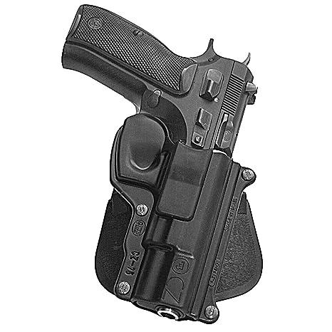 Fobus Standard Holster RH Paddle CZ75 CZ-75/ 75BD/ 85/ Cadet  22/ 75D  compact 9mm