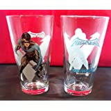 Toon Tumbler™: NIGHTWING (DC) 16 Ounce pint glass